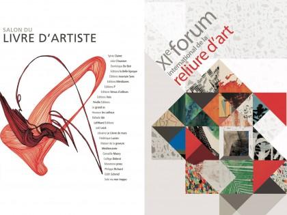 Salon du livre d'artiste de Carré d'Art Nîmes