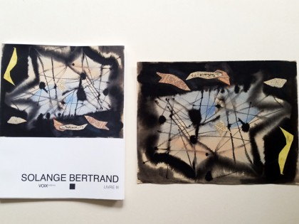 Solange Bertrand – Dessins, monotypes et collages