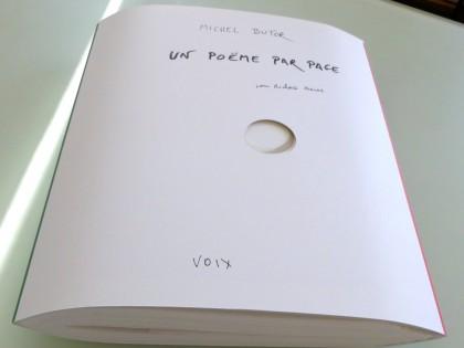 Michel Butor – Un poème par page